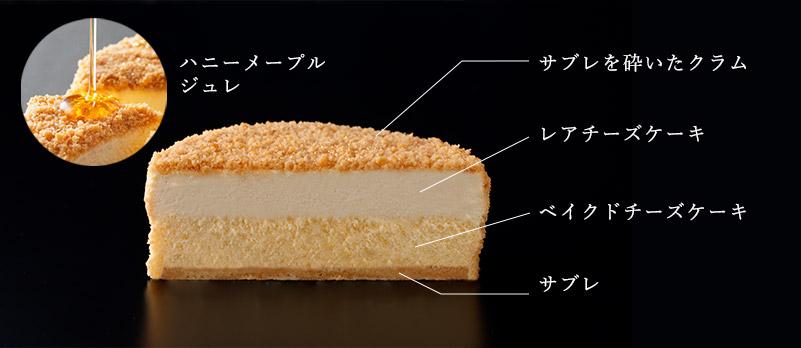 ケーキ断面図